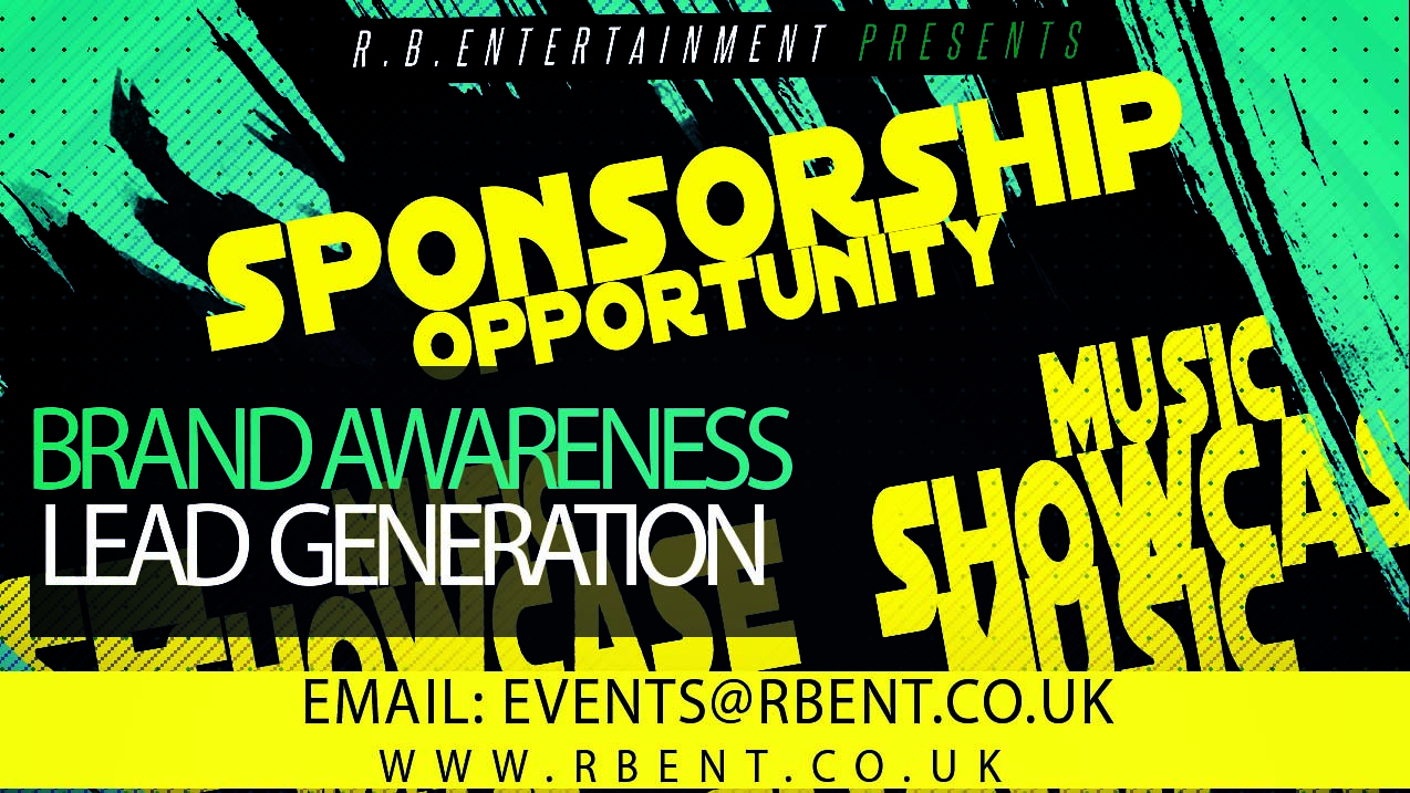 Be one of our sponsors